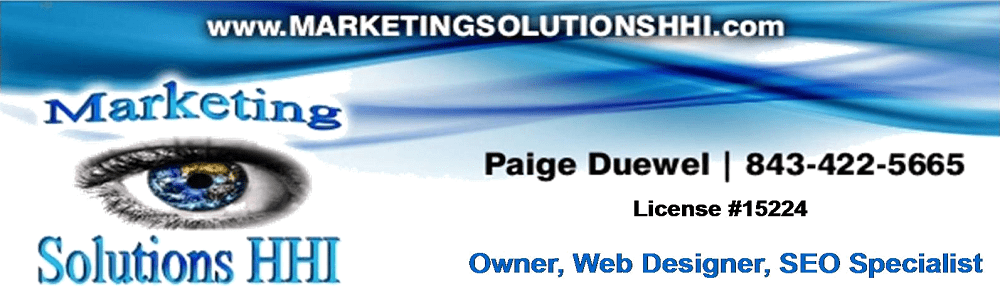 Marketing Hilton Head, Website Design, SEO, Online Marketing