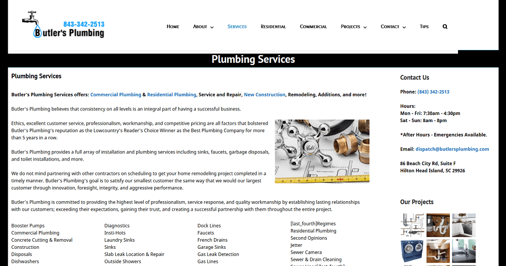 Butlers Plumbing Services