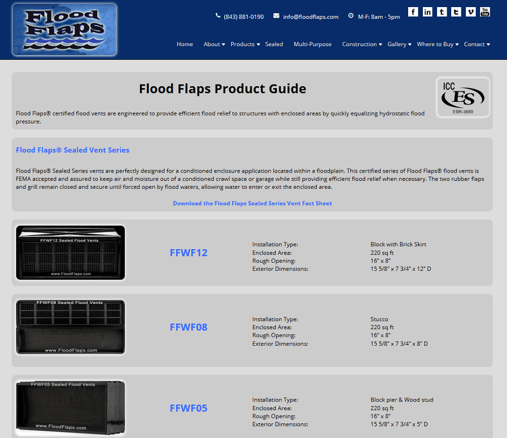Flood Flaps, Flood Prevention Vents, Flood Vents