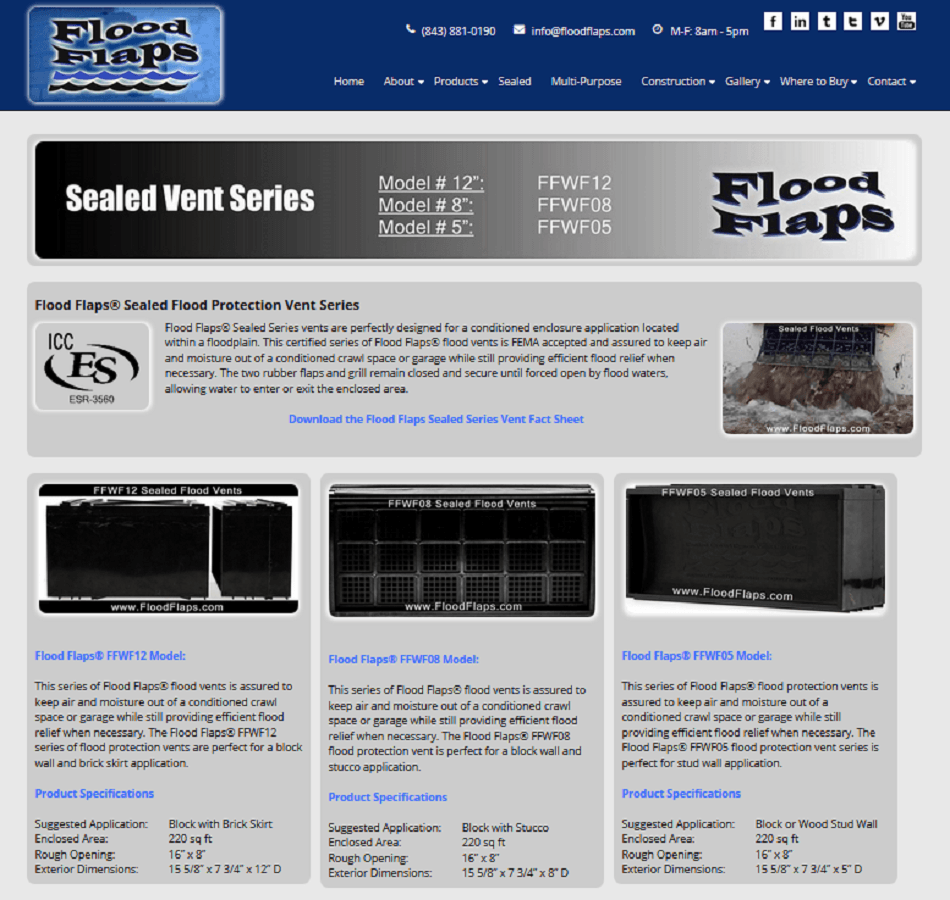 Flood Flaps, Flood Prevention Vents, Sealed Flood Vents