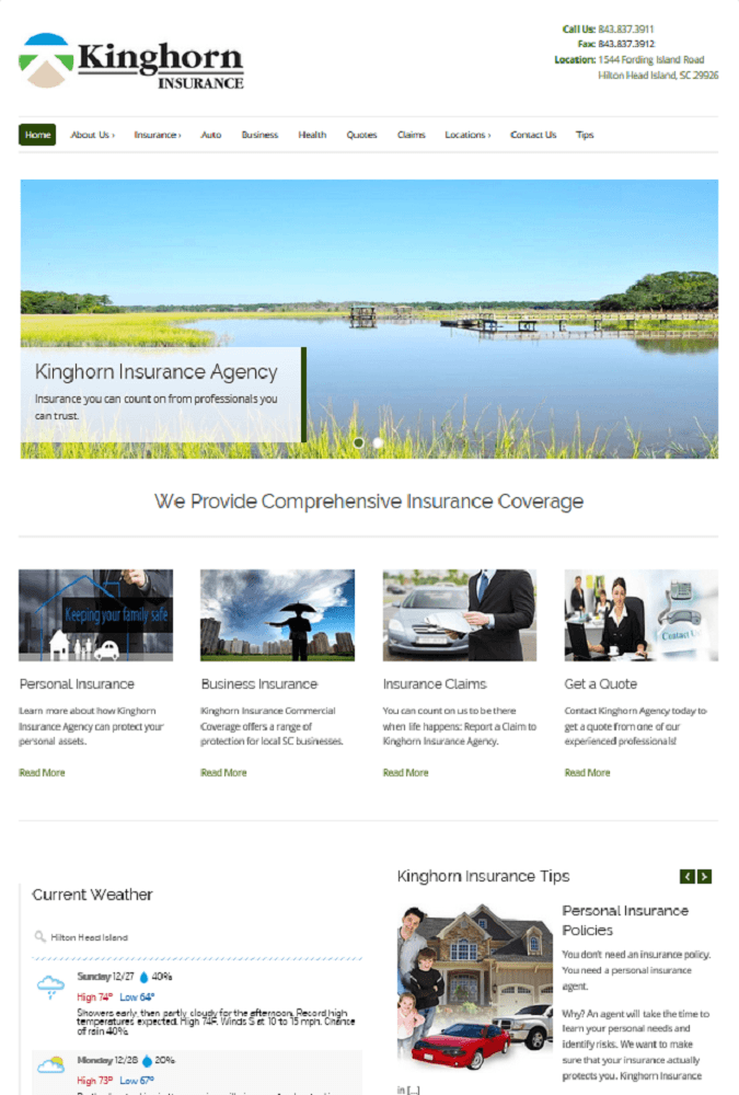 Portfolio - Kinghorn Insurance Agency