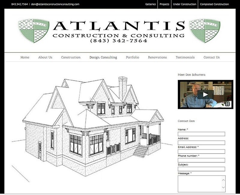Atlantis Construction and Design