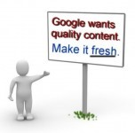 google wants fresh