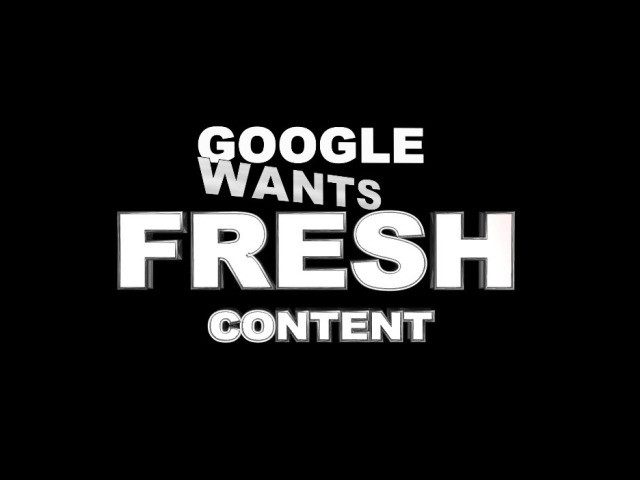 Keep Your Website FRESH!