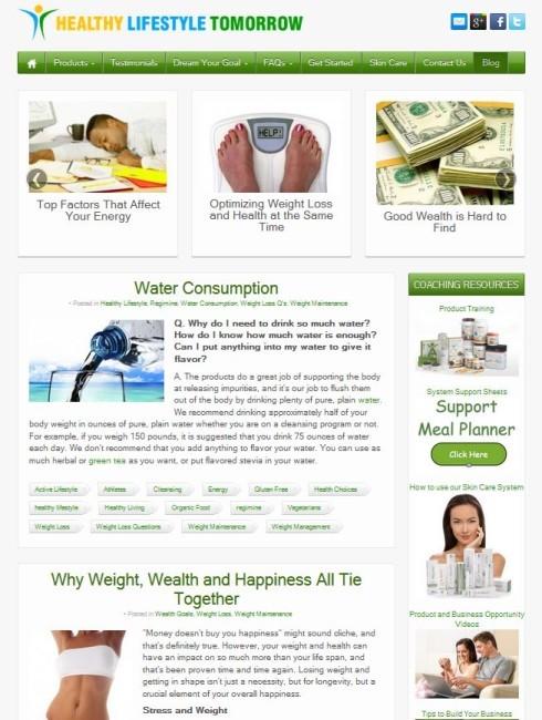 healthylifestyletomorrow blog