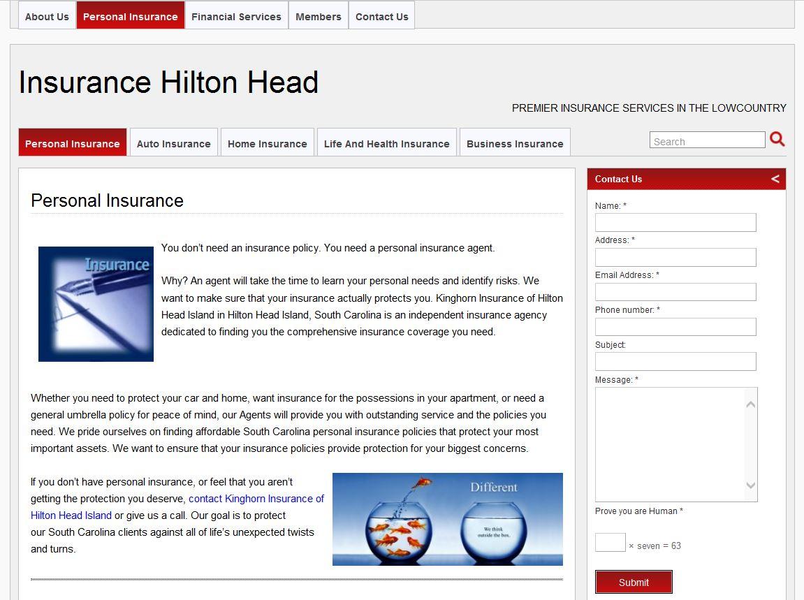 Insurance Hilton Head