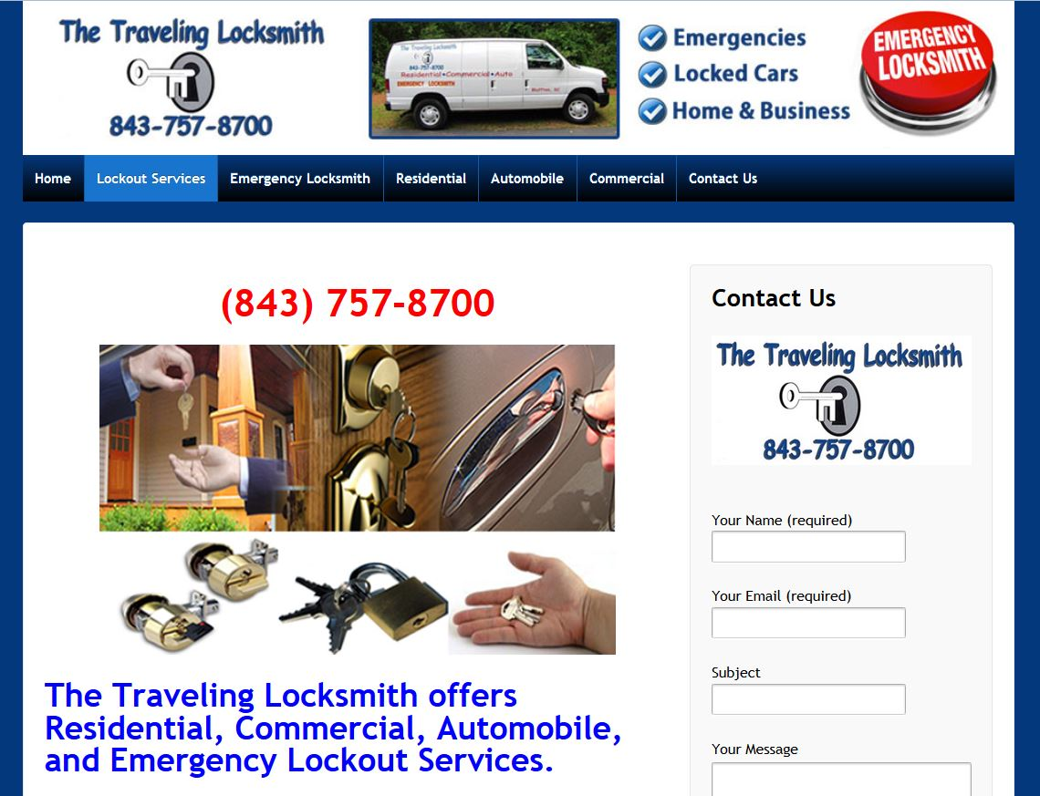 The Traveling Locksmith Bluffton