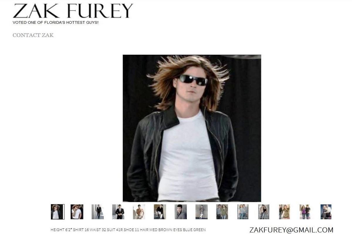 Website Design - Zak Furey