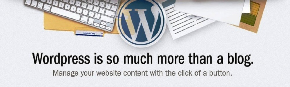 wordpress web design - more than a blog